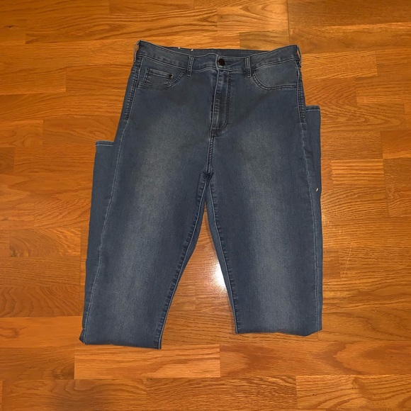 H&M Denim - High waist skinny jeggings 32/34